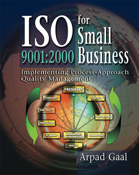 ISO 9001:2000 for Small Business book