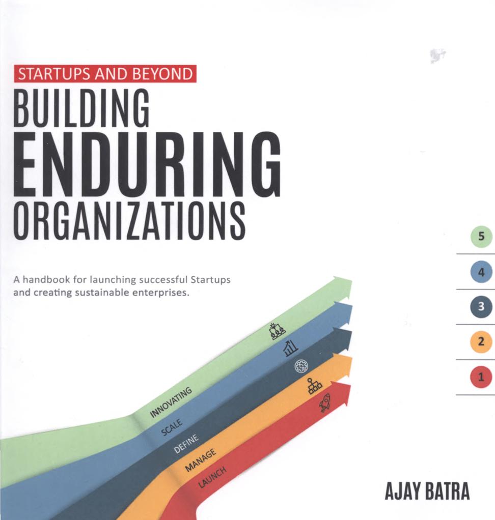 Startups and Beyond. Building Enduring Organizations на Federalsite.ru