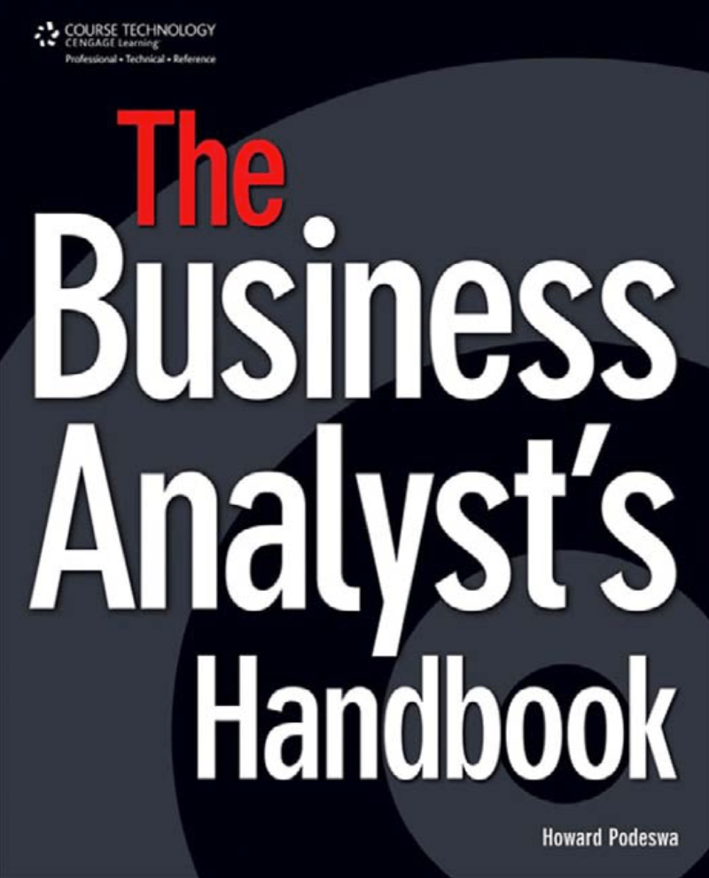 THE BUSINESS ANALYST'S HANDBOOK at Social-Media.press