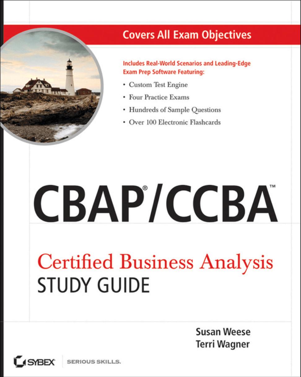 Учебное пособие для подготовки к сдаче экзаменов CBAP/CCBA на Federalsite.ru