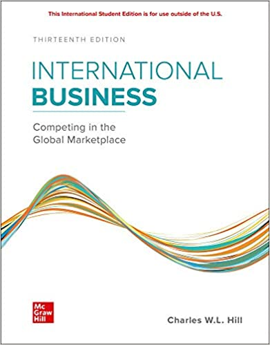 international business competing in the global marketplace 13th edition