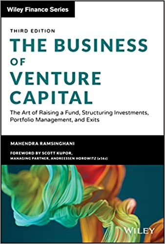 The Business of Venture Capital book