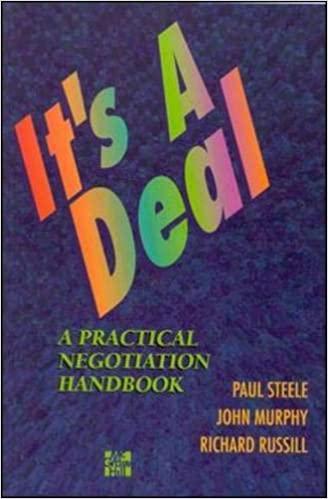 It's a Deal : Practical Negotiation Handbook book