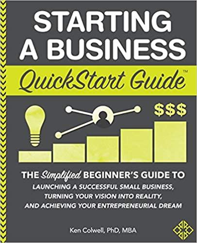 Starting a Business QuickStart Guide on E-Book.business