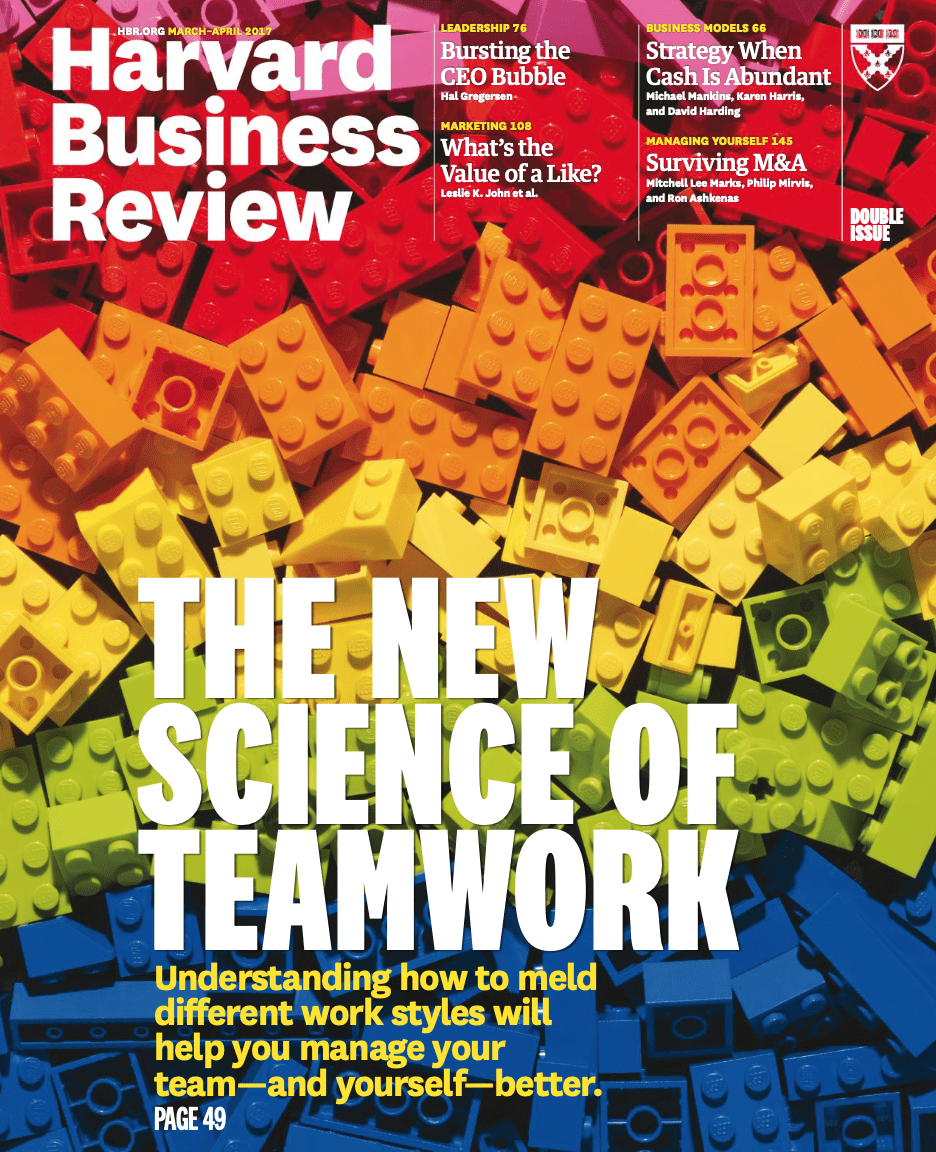 Harvard Business Review March-April 2017 on E-Book.business