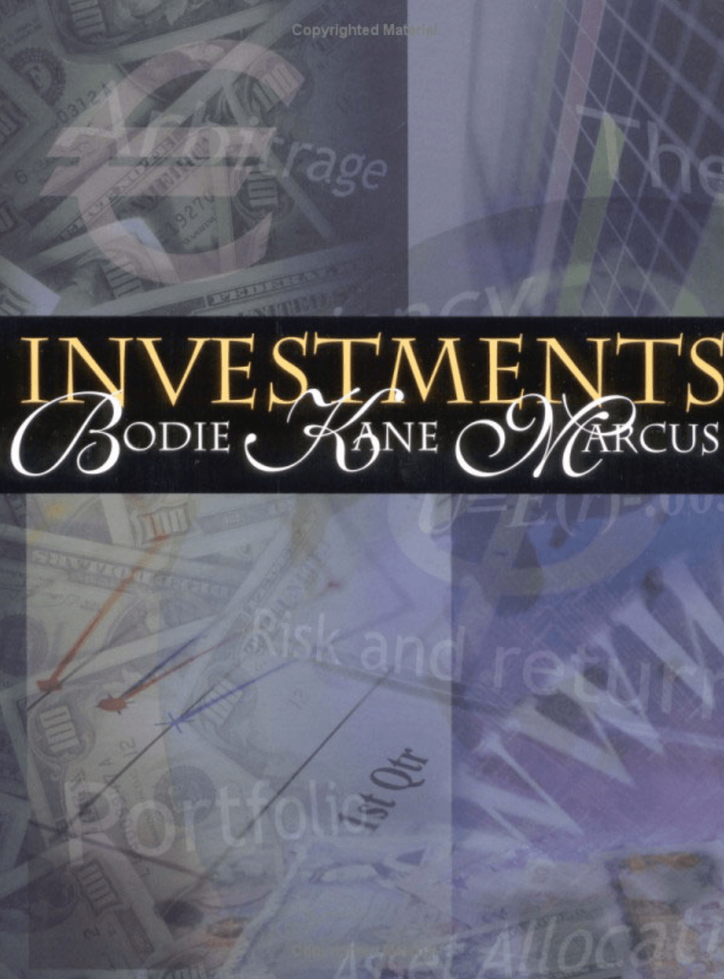 Investments, Fifth Edition book