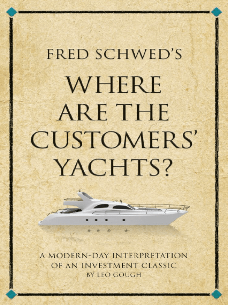 Where Are the Customers Yachts book