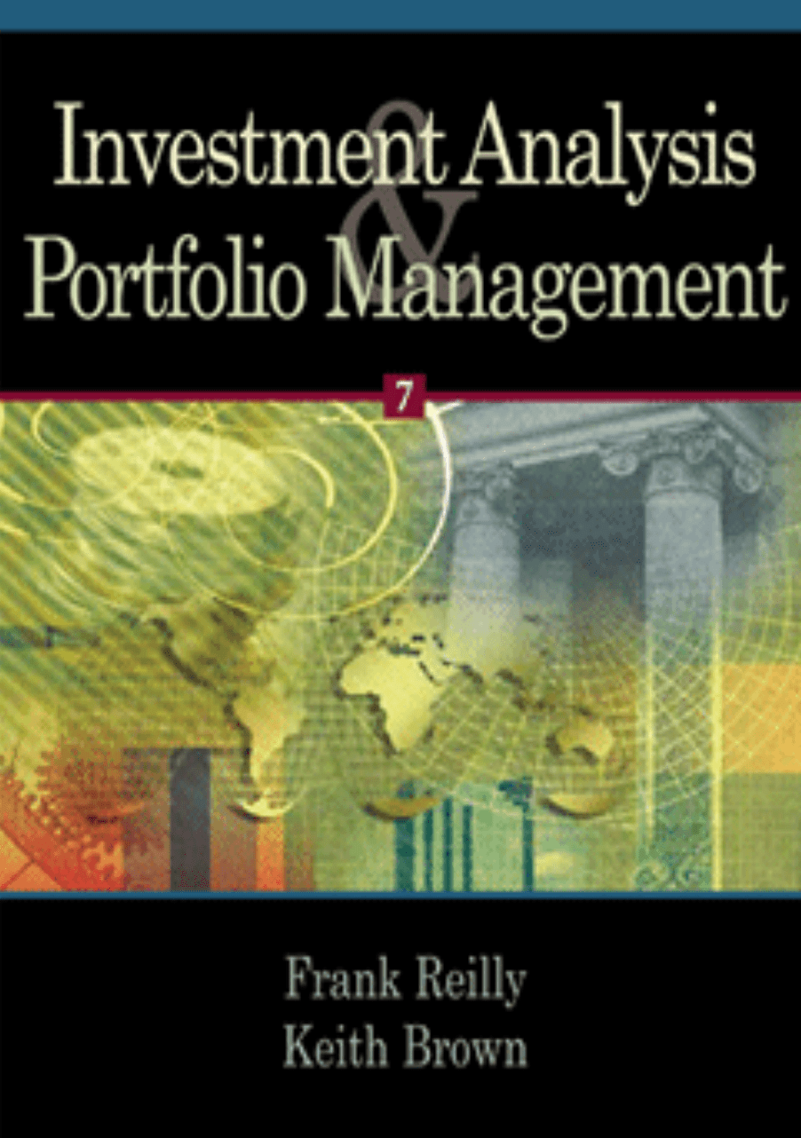 Investment Analysis And Portfolio Management on E-Book.business