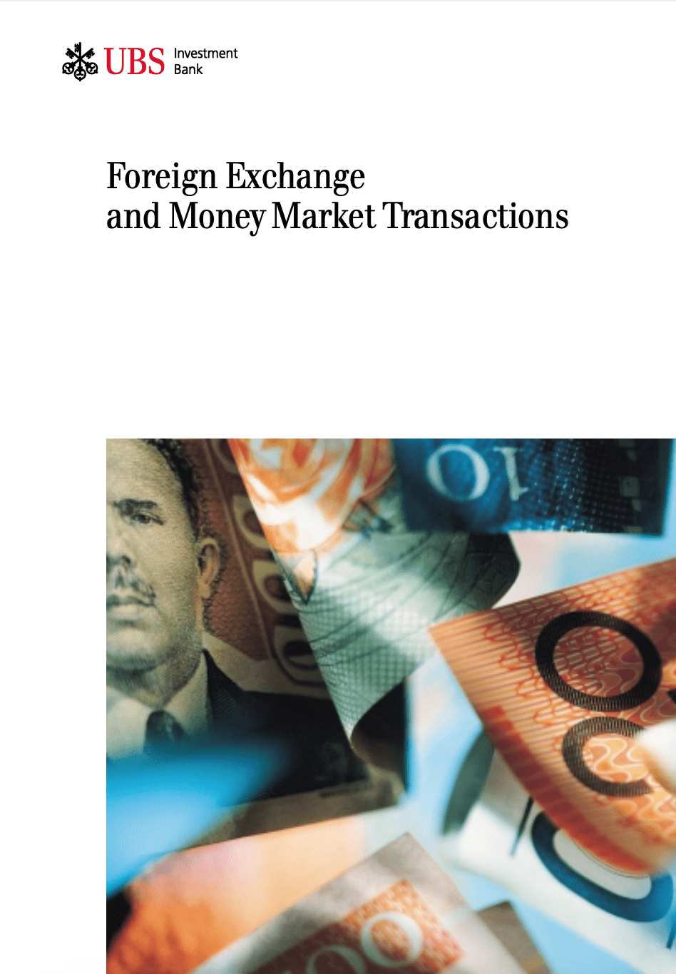 Foreign Exchange and Money Market Transactions book