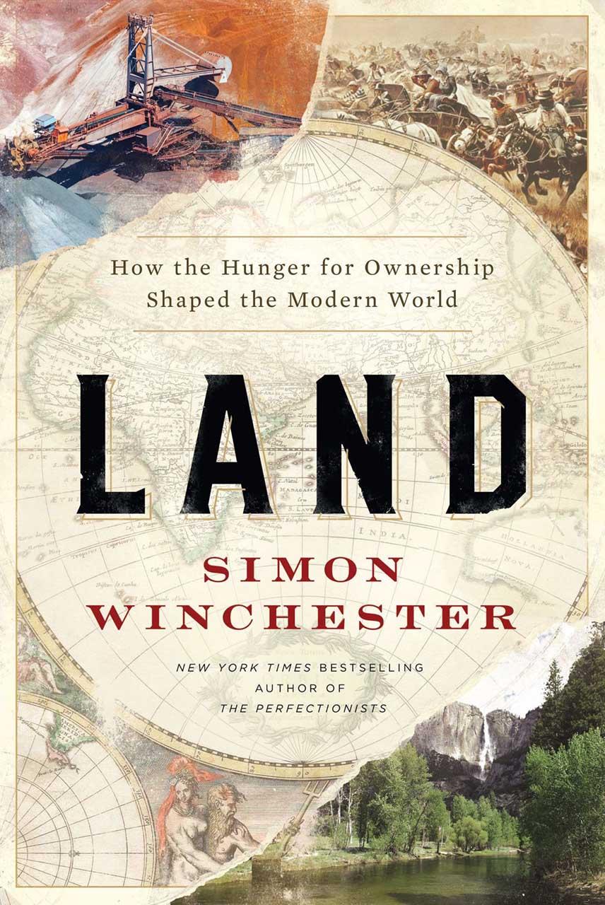 Land: the book book