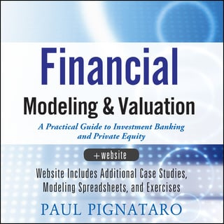 Financial Modeling and Valuation on E-Book.business