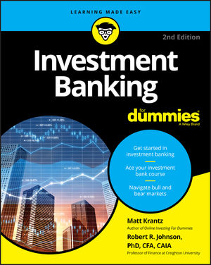 Investment Banking For Dummies on E-Book.business