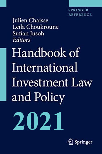 Handbook of International Investment Law and Policy on E-Book.business