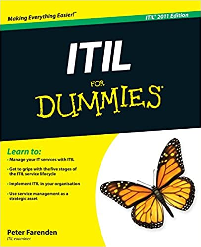 ITIL For Dummies eBook book