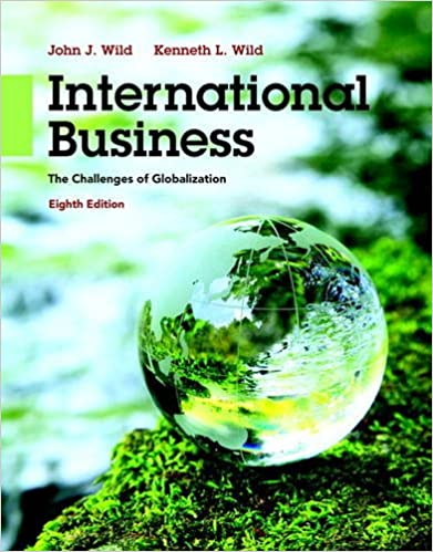 International Business: The Challenges of Globalization book
