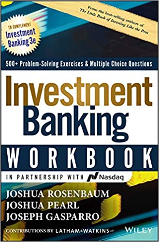 Investment Banking Workbook: Valuation, LBOs, M&A, and IPOs on E-Book.business